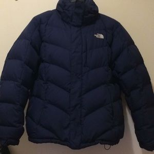 North face goose down ski puffer jacket